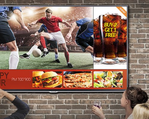 DIgital Signage Smart TV